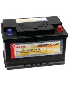 Baterie umpluta 12V / / 74Ah 57051 57217 57220 57113 57114