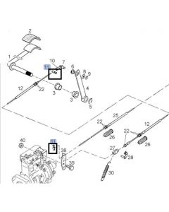 Case IH Conector Cablu 190000880092
