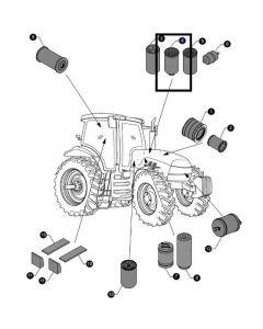 Case IH Filtru Combustibil 84557099