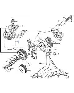 Case IH Filtru Ulei Motor 3136459R91