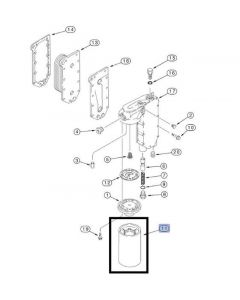 Case IH Filtru Ulei Motor 84229397