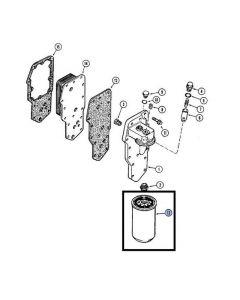 Case IH Filtru Ulei Motor 84496951 J908616