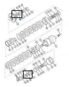 Case IH Rulment A175487