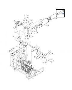 Filtru Aer Motor 84072430