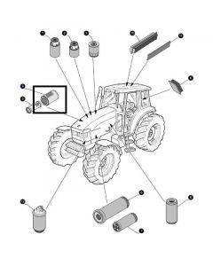 Filtru Aer Motor 87394880