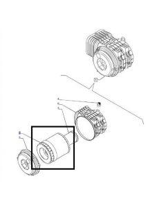 Filtru Aer Motor 87517154