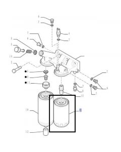 Filtru Combustibil 84412164
