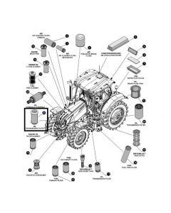 Filtru Hidraulic 47715391