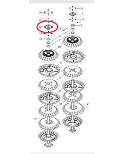Guttler Rulment cu bile UCF 308 Premium K75517001