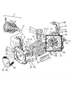 John Deere Capac Pompa MET WZ3023013