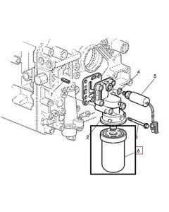 John Deere Filtru Ulei Hidraulic AL118036