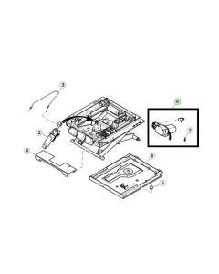 John Deere Kit Compresor Aer Scaun RE331260