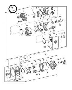 John Deere Pompa Hidraulica AXE61756