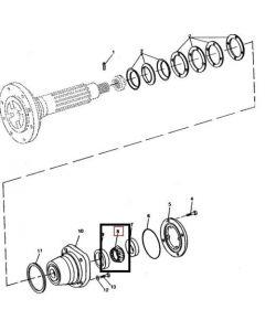 John Deere Rulment JD9043