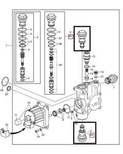 John Deere Supapa Control AL168858