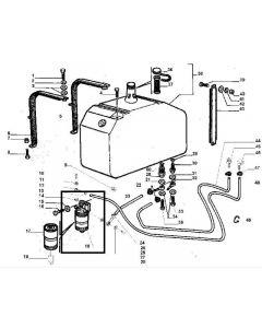 Laverda Filtru Combustibil 323271500
