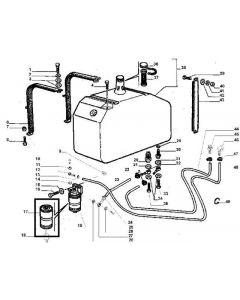 Laverda Filtru Combustibil 323273250