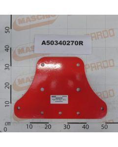 Maschio Gaspardo PIASTRA PORTA BURE TUBO 100 P A50340270R