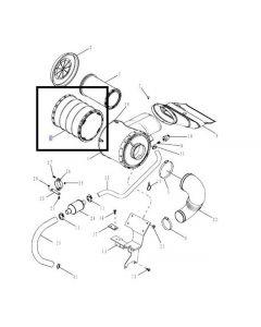 New Holland Filtru Aer Motor 87408704 84475951